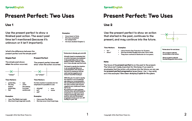 Teaching the Present Perfect | Sprout English