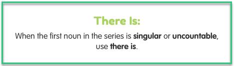 verbs singular and plural list